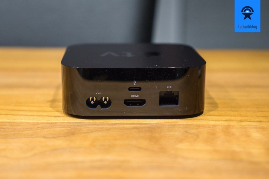 Apple TV Anschlüsse