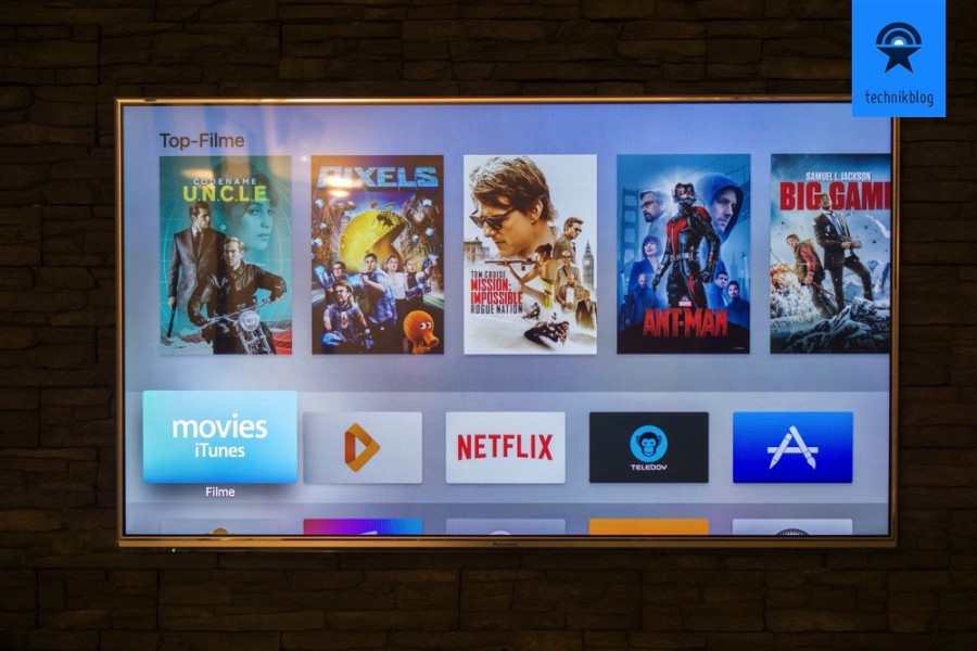 Apple TV: tvOS Startansicht
