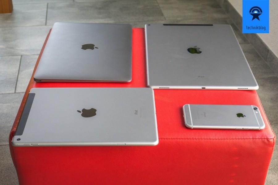 """Spacegrey pur! Apple MacBook 12"""", iPad Pro, iPad Air 2 und iPhone 6S"""