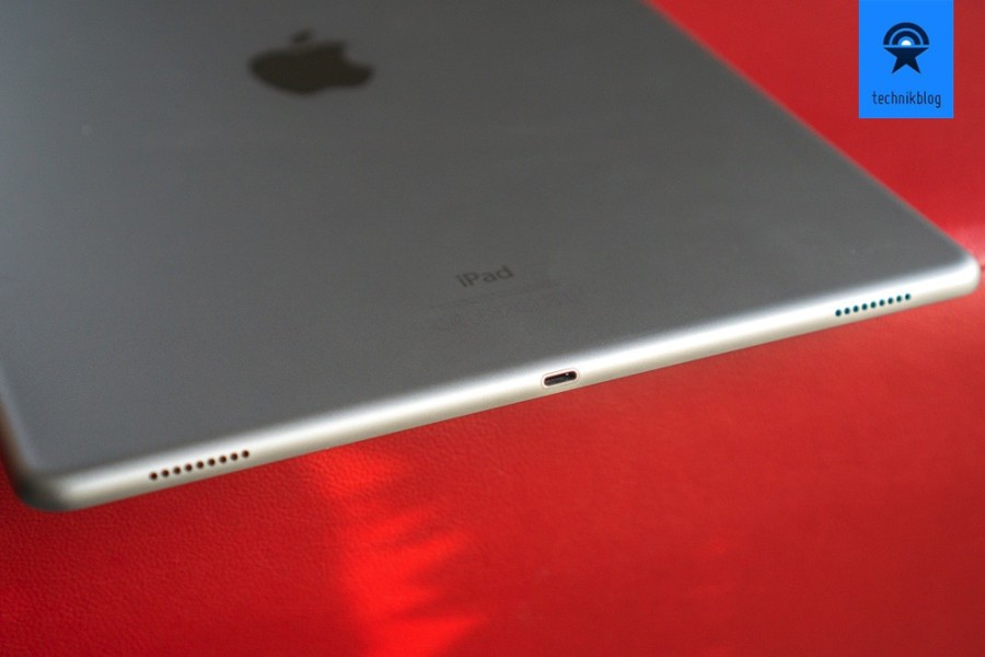 Total vier Lautsprecher sind im Apple iPad Pro verbaut und sorgen für guten Sound.
