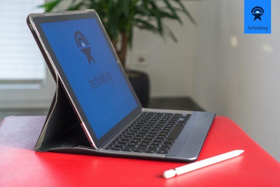 Das Logi Create macht aus dem iPad Pro ein vollwertiges Convertible...
