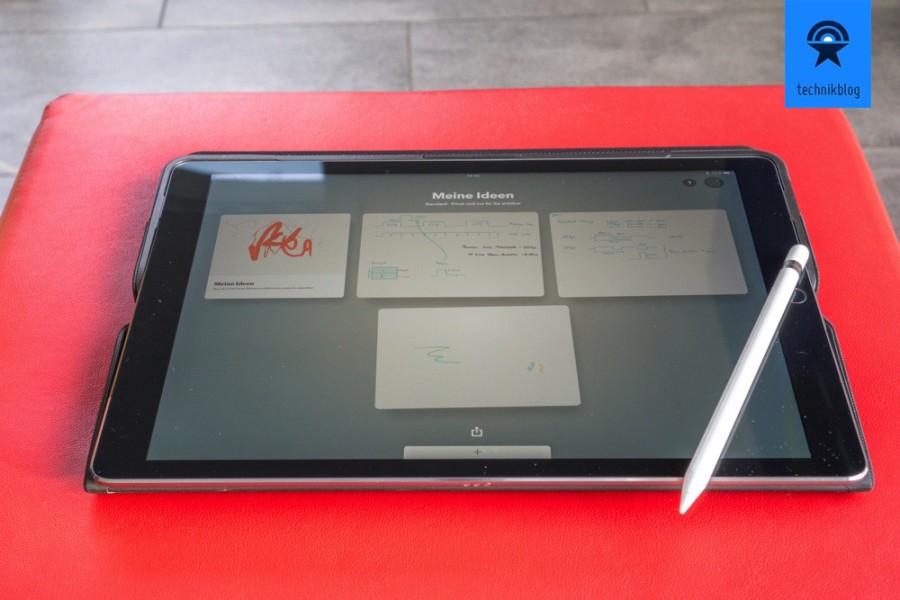 Apple iPad Pro und Apple Pencil - ein perfektes Paar.