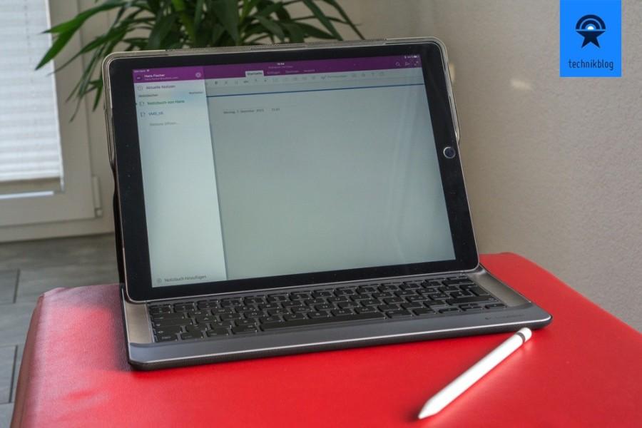 Apple iPad Pro mit dem Logi Create