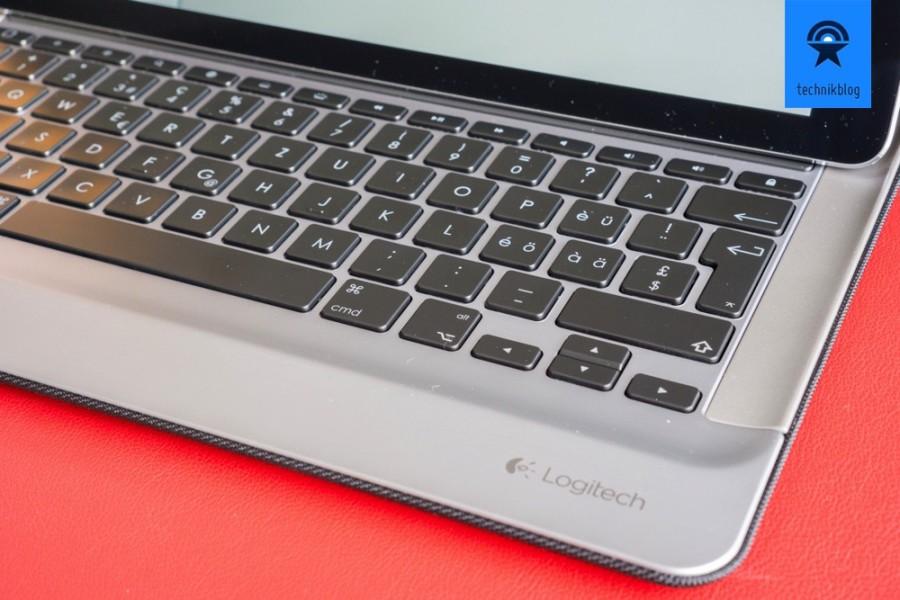 Geniale Tastatur am Logi Create!