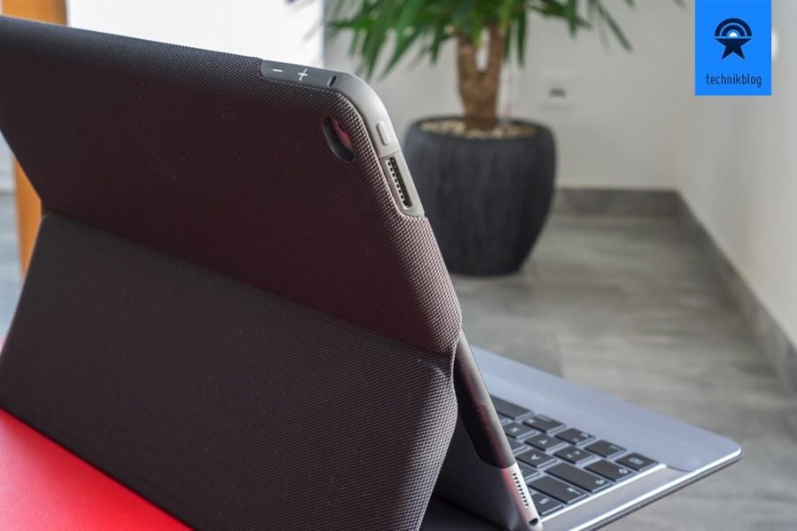 Apple iPad Pro: Besonders angenehm zu Nutzen mit Case, wie dem Logi Create