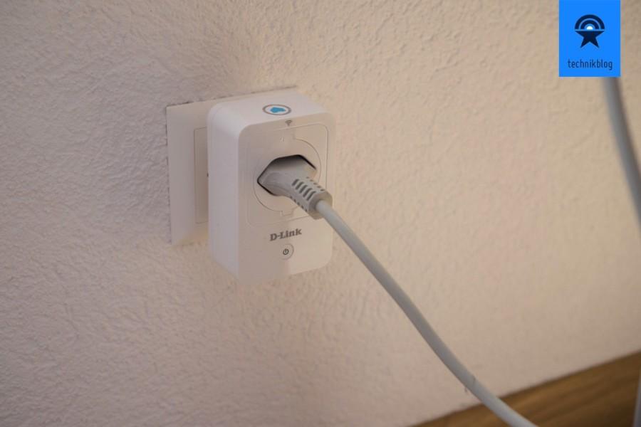 D-Link Smart plug im Einsatz