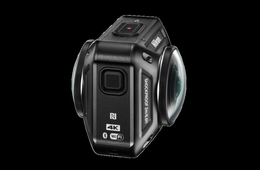 Nikon Keymission 360 mit zwei Sensoren und Objektiven für 360° Videos