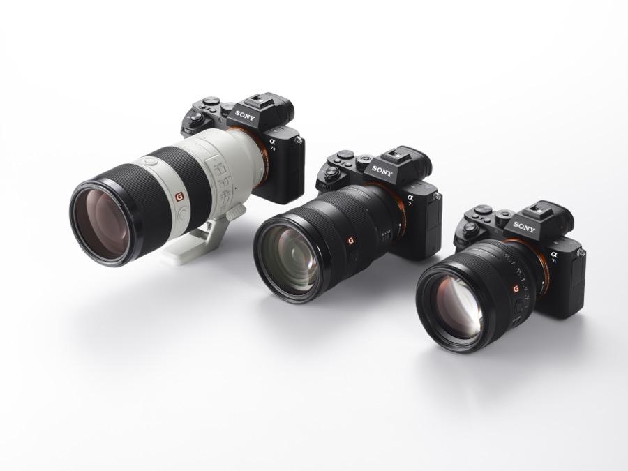 Die drei neuen Sony Objektive an Alpha Kameras